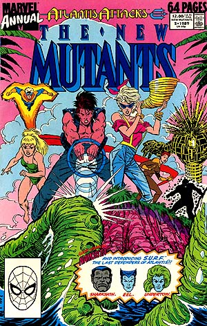 Rictor and fellow New Mutants